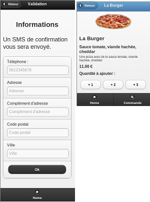 Mobile version of livre pizzas